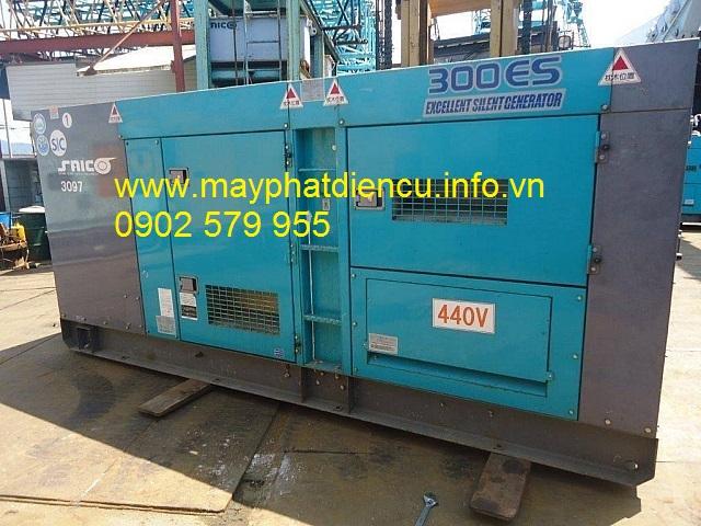 Máy phát điện công nghiệp 300kva