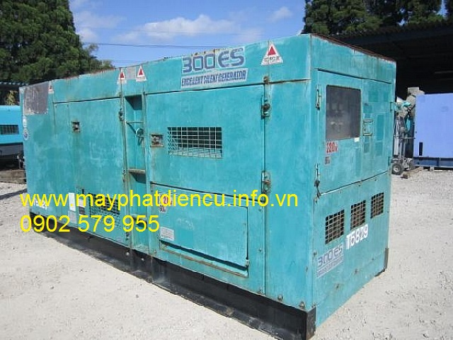 Máy phát điện công nghiệp 350kva