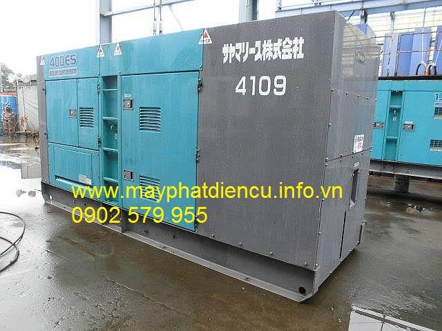 Máy phát điện công nghiệp 400kva