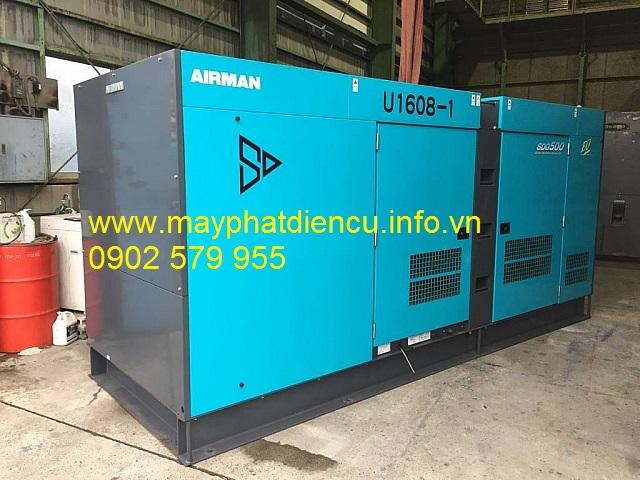 Máy phát điện công nghiệp 550kva