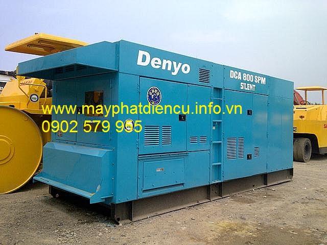 Máy phát điện công nghiệp 800kva